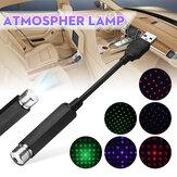 USB toit de voiture gypsophile / étoile à cinq branches LED veilleuse romantique atmosphère intérieure plafonnier