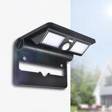 DigooDG-FCR-1JardimPórticoPátioLED Lâmpada Folding Lights Solar sem fio PIRSensor Impermeável parede de luz