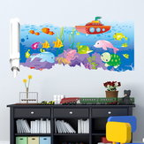 23X47 Inches PAG 3D Wall Sticker Broken Paper Series II Living Room Home Wall Decoration