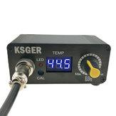 KSGER MINI STC LED T12 Пайка Утюг Пайка Регулятор температуры станции Модернизированная версия