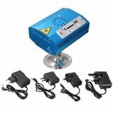 Mini bluetooth R & G luz láser USB SD proyector de la etapa del disco de partido de navidad club dj