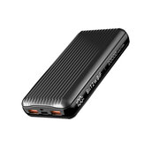 BlitzWolf® BW-P14 60W 74Wh 20000mAh Power Bank External Battery Power Supply With 60W USB-C PD QC4.0+ & 27W QC3.0 USB-A * 2 Support PPS AFC FCP SCP VOOC Dash Warp Fast Charging For iPhone 12 Mini 12 Pro Max For Samsung Galaxy Note 20 OnePlus 8T MacBook