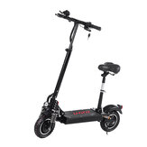 LAOTIE ES10 2000W Dual Motor 23.4Ah 52V 10 Inches Folding Electric Scooter with Seat 70km/h Top Speed 80km Mileage Max Load 120kg