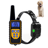 800M Remote Control Electric Dog Collar Pet Snoring Device Shock Agility Collar Waterproof Rechargeable Pet Training Supplies