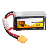 ZOP Power 14.8V 1800mAh 65C 4S Lipo Battery XT60 Plug For RC FPV Racing Drone