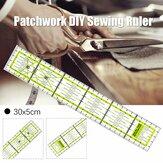 30x5 cm akrylowa patchworkowa linijka do szycia tkanina krawiecka Craft DIY narzędzie pomiarowe