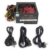850W 12V ATXコンピュータ電源12CMファン20/4ピンIntel用AMD PC 110V-230V