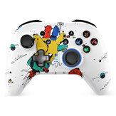 EasySMX ESM-4108 White bluetooth Controller Wireless Gampad 5 Adjustable Dual Shock Built-in Dual Motors for Nintendo Switch PC