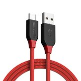 [10 Pack] BlitzWolf® AmpCore BW-TC5 3A USB Type-C Braided Charging Data Cable 3.33ft/1m With Cable Collector