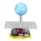 Acarde Oyun Konsolu Denetleyicisi için LED Lamba ile Renkli Kumanda Joystick'i DIY