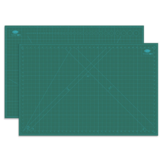 Ou Ge 883A1 Three-layer Black Core A1 Cutting Mat Non-standard Size In Green For Office Stationary Supplies