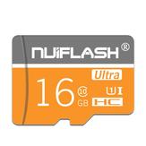 Nuiflash NF-TF 04 C10 Κάρτα μνήμης 16 GB 32 GB 64 GB 128 GB Κάρτα αποθήκευσης δεδομένων Κάρτα TF για κάμερα τηλεφώνου