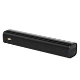 Blitzwolf® BW-SDB0 Pro 10W 2200mAh Mini bluetooth Soundbar for Desktop or Laptop PC with Stereo Sound, Unique Design, Wired & Wireless Connection, USB Powered