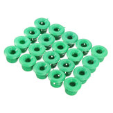 20Pcs Side Skirts Mouldings Grommets Clips For BMW E30 E32 E36 E46 E60 E61 E63