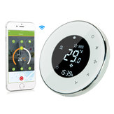 MoesHouse BHT-6000-GBLW LCD Touch Screen Electric Underfloor Heating Thermostat Backlight WIFI 16A Works With Alexa Google Home