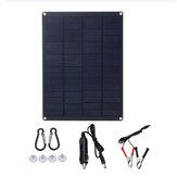 18V Taşınabilir Solar Panel Kit Outdoor Kampçılık Araba Arabaavan Bot Şarj Cihazı Batarya
