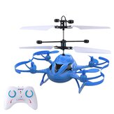Mini 4CH RC Helicopter With LED Light Gesture Sensing Hovering Induction Παιδιά Δώρο Παιχνίδια Υπαίθρου