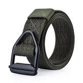 Tira al aire libre durable de los pantalones del deporte Nylon Correa de la hebilla de la aleación del metal militar Tactical 120cm hombres