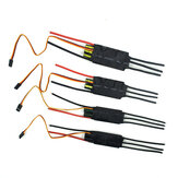 Double Sides Brushless ESC 40/50/60 / 80A Onderwater Boegschroef RC Car Boat Part UBEC 5A 5V
