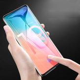 Bakeey Support Sensore di impronte digitali Sbloccare il protettore di schermo in vetro temprato 3D curvo per Samsung Galaxy S10 / Galaxy S10 Plus