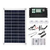 10A-100A félig rugalmas napelemes panelrendszer-készlet Solar Panle Dual DC port 5V / 12V / 18V W / napelemes töltésvezérlő
