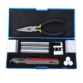 Professional 12 in 1 HUK Lock Disassembly Tool Locksmith Tools Kit Remove Lock Repairing pick Set