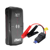 iMars J03 Portable Car Jump Starter 16000mAh 1300A Emergency البطارية Booster 10W Wireless شحن QC3.0 القوة Bank ضد للماء مع مصباح يدوي LED