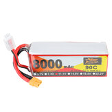 ZOP Power 11.1V 8000mAh 90C 3S Lipo Batterie XT60 Stecker für RC Racing Drone