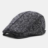 Collrown Erkek Örgü Casual Outdoor Yastıklı Sıcak Vizörlü Forward Şapka Bere Şapka