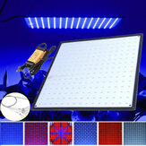 225 LED Grow Light Lampe Ultradünne Platte für Hydroponics Indoor Plant Veg Flower