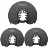 3pcs 88mm Half Circular Flush Saw Blades Ocsillating Multitool Accessories Oscillating Tools