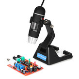 S09 Digital 25X-600X 2.0MP Microscope Continuous Magnifier with High-End Universal Bracket
