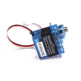 BLUEARROW AF D43S-6.0-MG Micro Metal Gear Digital Servo para XK K130 RC Helicóptero