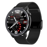 Bakeey L11 Business Style 1.3 pollici Full Round Touch Screen ECG Cuore Tasso di pressione sanguigna Temperatura meteo in tempo reale IP68 Smart Watch