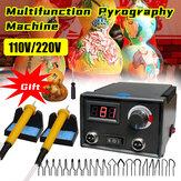 110V / 220Vデジタル多機能パイログラフィー機ひょうたんウッドパイログラフィー工芸品