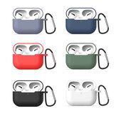 3 In 1 Protective Silicone Protector + Earphone Hanging Rope + Buckle For AirPods Pro Earphones
