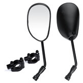 7/8 Inch 22mm Handle Bar End Rearview Side Mirrors Universal For Motorcycle ATV Scooter