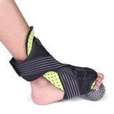 Dorsal Plantar Fasciitis Brace Ankle Support Tendonitis Night Splint Heel + Massage Ball
