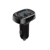 Автомобильное зарядное устройство Handsfree FM-передатчик Bluetooth MP3-плеер Dual USB Зарядка