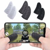 Bakeey Gants à Écran Tactile à Manches Doigts Ultral-Thin Anti-Transpiration Cots Professionnels pour PUBG Mobile Rules of Survival Sweatproof Respirant Mobile Game Controller