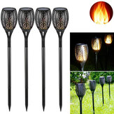 LED Solar Torch Dance Flickering Flame Lawn Light Waterproof Outdoor Garden Decorative Lamp