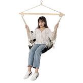 100 * 50 cm 160 kg charge maximale chaise hamac en coton simple siège suspendu confortable en plein air jardin balançoire charge maximale 160 kg
