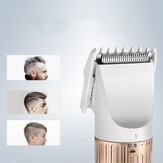 KEMEI Hommes Électrique Barbe Tondeuse À Cheveux Tondeuse Rechargeable Inoxydable Lame Rasoir Batterie Cheveux Coupe Machine KM-9020