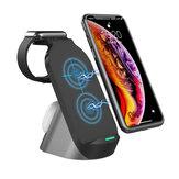 Bezprzewodowa ładowarka Bakeey 15W Qi Szybka stacja ładowania dla iPhone 12 XS 11Pro Mi10 OnePlus 8Pro S20 + Note 20