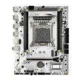 اللوحة الأم JGINYUE X99M-PLUS LGA 2011-3 الدعم DDR3 و DDR4 رام Xeon E5 V3 & V4 المعالج SATA PCI-E M.2 NVME فتحة M-ATX اللوحة الأم