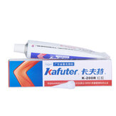 Kafuter K-200R Insulation Silicone Rubber Electronic Components Screw Fixed Special Sealant Red Glue