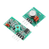 20Pcs 433Mhz Wireless RF Transmitter and Receiver Module Kit Geekcreit for Arduino - products that work with official Arduino boards