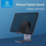 Hagibis Phone Tablet Holder Portable Desk Stand Aluminum Adjustable Holder for iPhone Smartphone For iPad For Samsung Redmi Note 9S