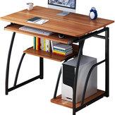 Meja Komputer Meja Laptop Meja Belajar sederhana meja desktop rumah Meja Tulis Sederhana Studi Meja Perawatan Host 71 cm Tinggi Untuk Kamar Tidur Kantor Studi Dengan rak
