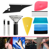 8 in 1 Car Window Tint Tools Kit for Vinyl Film Tinting Scrapers Multicolor